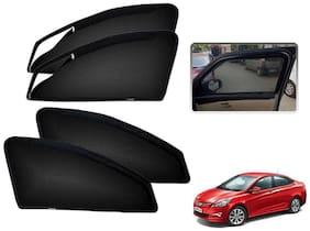 Kozdiko Premium Quality Zipper Magnetic Car Curtain for Hyundai Verna Fluidic