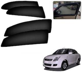 Kozdiko Premium Quality Simple Magnetic Sunshade Car Curtain for Maruti Suzuki Swift Dzire Old (2008-2011)