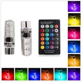Kozdiko RGB LED T10 5050 SMD light for headlight;brakelight;interior;parking for Mahindra Bolero