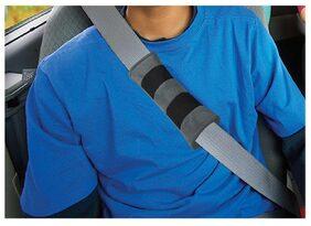 Kozdiko Seat Belt Grey Black 2 Pcs Color Pillow Cushion for Honda WRV