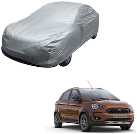 Kozdiko Silver Matty Car Body Cover with Buckle Belt For Ford Freestyle