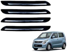Kozdiko Single Chrome Black Bumper Protector 4 pc For Maruti Suzuki WagonR New