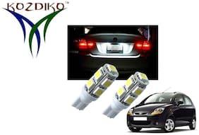 Kozdiko T10 lights 9 SMD Headlight Bulb;Parking Light;Number Plate bulb;Indicator light for Maruti Suzuki Alto K10