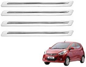 Kozdiko White Bumper Protector 4 pc For Hyundai Eon