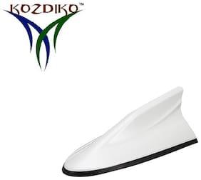 Kozdiko White Dolphin Antenna Replacement Signal Receiver Antenna for BMW 3 Series
