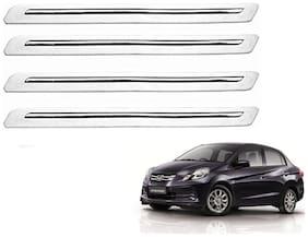 Kozdiko White Bumper Protector 4 pc For Honda Amaze