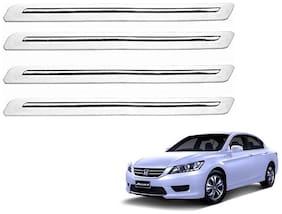 Kozdiko White Bumper Protector 4 pc For Honda Accord