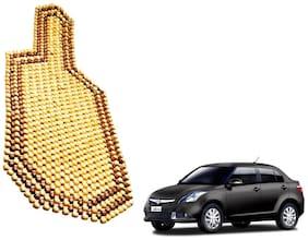 Kozdiko Wooden Bead Seat Cushion 1 pc for Maruti Suzuki New Dzire