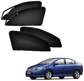 Kozdiko Zipper Magnetic Car Sunshades Curtain For Honda Ivtec City Old (2008-2014)