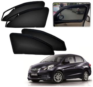 Kozdiko Zipper Magnetic Car Curtain For Honda Amaze