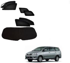 Kozdiko Zipper Magnetic Sun Shades Car Curtain With Dicky For Toyota Innova