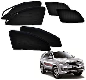 Kozdiko Zipper Magnetic Car Curtain For Toyota Fortuner