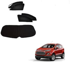 Kozdiko Zipper Magnetic Sun Shades Car Curtain With Dicky For Ford Ecosport