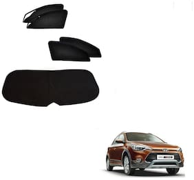 Kozdiko Zipper Magnetic Sun Shades Car Curtain With Dicky For Hyundai i10 Active