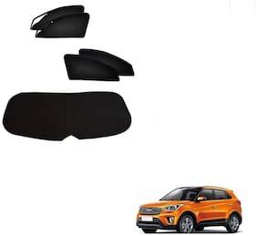 Kozdiko Zipper Magnetic Sun Shades Car Curtain With Dicky For Hyundai Creta