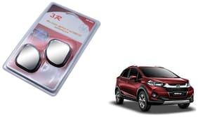 KunjZone 3R-065 Car Rear View Blind Spot Mirror Adjustable 360 Degree 2 Pcs Black For Honda Wrv