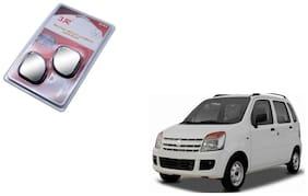 KunjZone 3R-065 Car Rear View Blind Spot Mirror Adjustable 360 deg 2 Pcs Black For Maruti Suzuki WagonR
