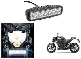 KunjZone 6 Led Bar Cree Auxillary Bike Fog Lamp 18W Set of 1 For Kawasaki Z800