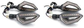 KunjZone 9 LED Turn Signal Lights Blinker Front or Rear Lights 4 Piece For KTM Duke 200