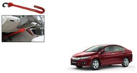 KunjZone Anti Theft Car Steering Pedal Lock for Honda City I Vtech