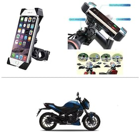 KunjZone Bike Holder 360 deg Rotating Bicycle Holder Motorcycle Cell Phone Cradle Mount Holder For Bajaj Dominar