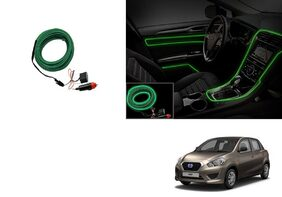 Kunjzone Car Interior Ambient Wire Decorative LED Light Green For Daewoo Go