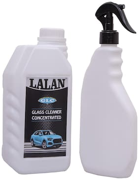 Lalan GLC Glass Cleaner Concentrated + Spray Bottle