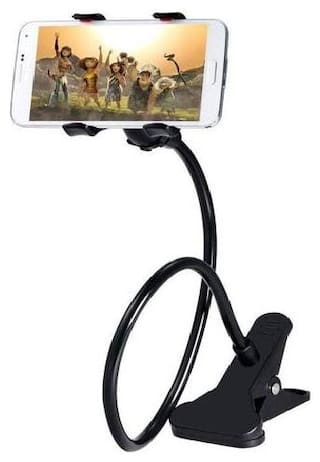 Lazy Mobile Stand Holder Multipurpose Mobile Desk Stand (Color May Vary)