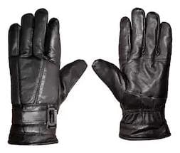 Leather Driving Gloves Black