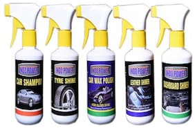 LEATHER SHINER GUN 250ml.TYRE SHINER GUN 250ml.+CAR SHAMPOO GUN 250ml.+DASHBOARD SHINER GUN 250ml.+CAR WAX POLISH GUN 250ml.