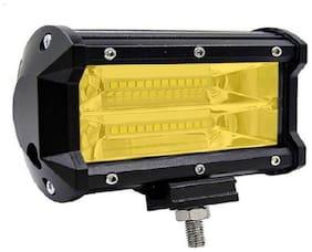 Led Bar / Fog Light / Work Light Bar Heavy Duty 24 LED 72 W 5 Inch Spot Beam Off Road Driving LA Yellow