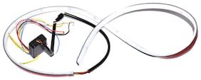 LED Dicky Light DRL With Side Turn Signal;Parking for Mahindra Verito