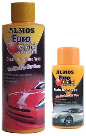 Liquid Car Polish for Dashboard, Metal Parts, Exterior (350 ml)