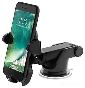 Long Neck Easy One Touch Car Mount Best Windshield Phone Holder Ever