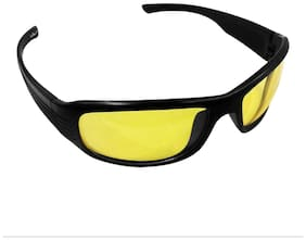 Madsbag Unisex Night Driving Glasses - Anti Glare Coat & Scratch Resistant Coating