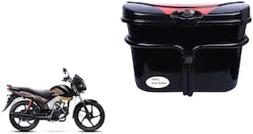 Mahindra Centuro NXT Vivo Black Red Side Box Luggage Box for Extra Luggage for Bikes