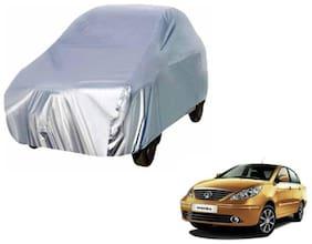 Manza silver car cover