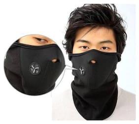 Marketwala Bike Face Mask for Men & Women  (Pack of 1) Black