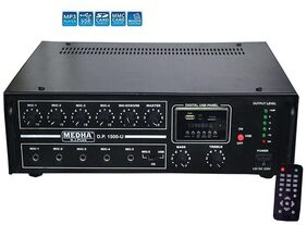 MEDHA PROFESSIONAL 160 WATT P.A. KARAOKE BLUETOOTH AMPLIFIER WITH DIGITAL MEDIA PLAYER