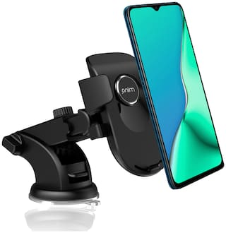 MINQ On-Touch Car Mobile Holder for Mobile Phone holder Dashboard;Windshield;Anti-slip