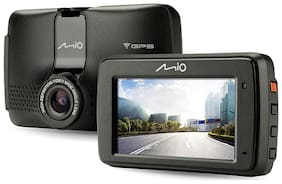 Mio 733 DASHCAM_HD DVR_2.7 Inch LCD Display_Inbuilt WIFI & Integrated GPS_Pre Installed ADAS_Parking Mode_Safety Alerts