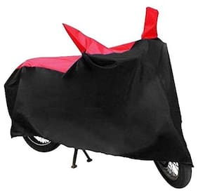 Mobidezire Bike Two wheeler body cover For Bajaj  Pulsar 220F(Red&black)
