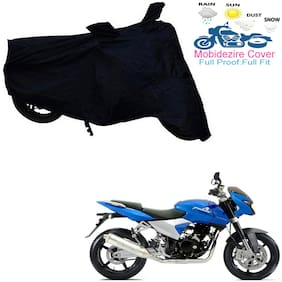 Mobidezire  Black Bike Body Cover For  Pulsar 150 DTS-I   (Bajaj)