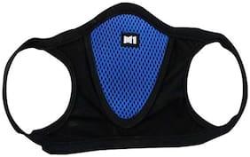 Mobidezire M1 Blue Mask for Unisex -Breath Dustfree(Free size)
