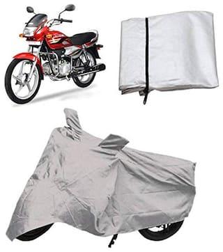 Mobidezire Silver Bike Body Cover for (VT500E)