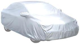 Mocomo Silver Matty G19 Car Body Cover for Tata Nexon