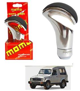 Momo Grey Gear Shift Knob For Maruti Gypsy