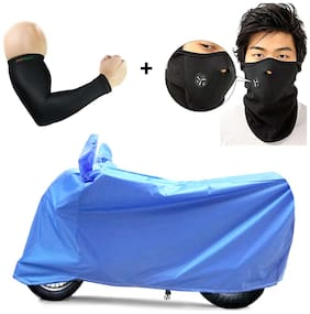 Mototrance Aqua Bike Body Cover For All Bikes With Arm Sleeve & Face Mask Freebie