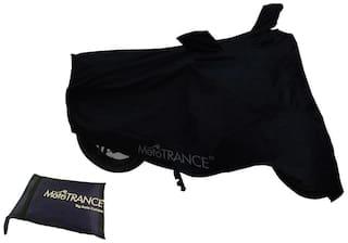 Mototrance Black Bike Body Cover For Honda CB Shine