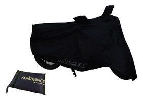 Mototrance Black Bike Body Cover For Honda Activa 5G